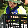 7-28-18<br /> Kids Fishing Clinic<br /> Cooper Shaw watches his fish as they're weighed at the Kids Fishing Clinic on Saturday morning.<br /> Kelly Lafferty Gerber | Kokomo Tribune