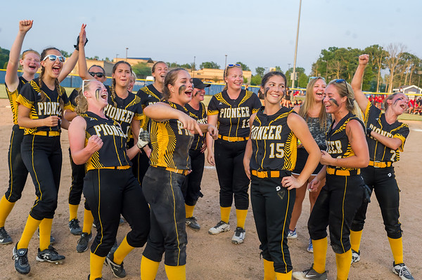 """The Pioneer Panthers captured the 2018 1A IHSAASemi-State Championship in Frankfort Saturday evening as the Lady Panthers defeated the Frontier Falcons by a score of 6-3. In the words of Alyssa Shaw,"""" it's not just football anymore!"""" Fran Ruchalski 