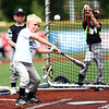 Jackrabbits kids baseball camp on Wednesday, June 27, 2018.<br /> Kelly Lafferty Gerber | Kokomo Tribune