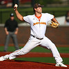 6-27-18<br /> Jackrabbits vs Aviators<br /> Landon Kelly pitches.<br /> Kelly Lafferty Gerber | Kokomo Tribune