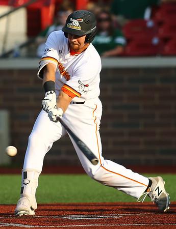 6-20-18<br /> Jackrabbits vs Dans<br /> Alex Dorethy bats.<br /> Kelly Lafferty Gerber   Kokomo Tribune