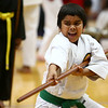 Jeet Jayesh Patel, 8, competes in the karate tournament during the Haynes Apperson Sports Festival on Saturday, June 30, 2018.<br /> Kelly Lafferty Gerber | Kokomo Tribune