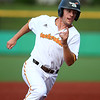 6-27-18<br /> Jackrabbits vs Aviators<br /> Nick Brunson runs to third.<br /> Kelly Lafferty Gerber | Kokomo Tribune