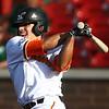 6-20-18<br /> Jackrabbits vs Dans<br /> John Sechen bats.<br /> Kelly Lafferty Gerber | Kokomo Tribune