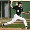 6-13-18<br /> Post Six baseball vs Napoleon<br /> Ben Harris pitches.<br /> Kelly Lafferty Gerber | Kokomo Tribune