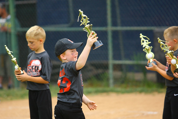 The Rookie League Championship held at UCT Park between Russiaville's Reser Hereford's and Southside's Children's Christian Academy on June 8, 2018. <br /> Tim Bath   Kokomo Tribune