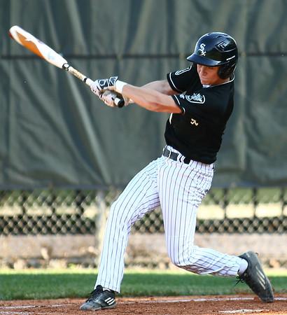 6-13-18<br /> Post Six baseball vs Napoleon<br /> Wynn Takacs bats.<br /> Kelly Lafferty Gerber   Kokomo Tribune