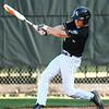 6-13-18<br /> Post Six baseball vs Napoleon<br /> Wynn Takacs bats.<br /> Kelly Lafferty Gerber | Kokomo Tribune
