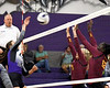 Mount Vernon Varsity Lady Tigers vs New Boston Lady Lions Volleyball game photos