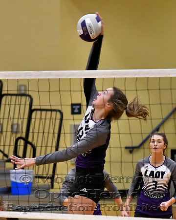 Mount Vernon Varsity Lady Tigers vs Troup Lady Tigers Volleyball Regional Quarter-Finals playoff game photos