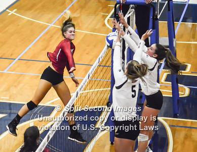 2018 Lambert Girls Volleyball vs Walton