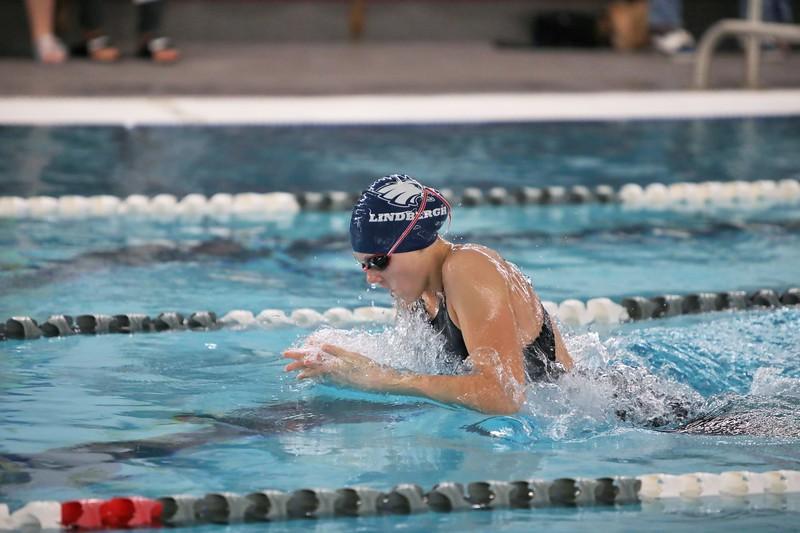 2018 Lindbergh Girls Swim Dive vs Kentridge - Oct 12