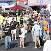 Don Knight | The Herald Bulletin<br /> Fans walk the midway before the start of the 70th running of the Pay Less Little 500 on Saturday.