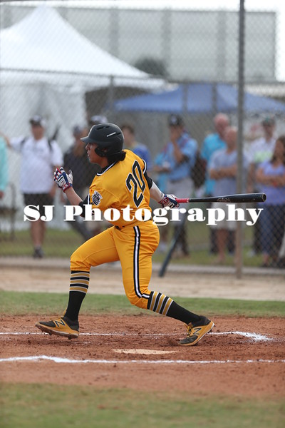 Anthony Seigler in 2017 at WWBA Jupiter, Florida