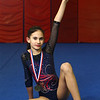 3-9-18<br /> Kokomotion's Bethany Smith, who won a state title in floor at the Level 3 state meet.<br /> Kelly Lafferty Gerber | Kokomo Tribune