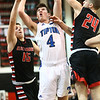 3-3-18<br /> Tipton vs Eastbrook sectional<br /> Lukas Swan puts up a shot.<br /> Kelly Lafferty Gerber | Kokomo Tribune