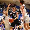 3-2-18<br /> Western vs Northwestern boys basketball<br /> Western's Cooper O'Neal puts up a shot.<br /> Kelly Lafferty Gerber | Kokomo Tribune