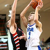 3-3-18<br /> Tipton vs Eastbrook sectional<br /> Alec Weddell puts up a shot.<br /> Kelly Lafferty Gerber | Kokomo Tribune
