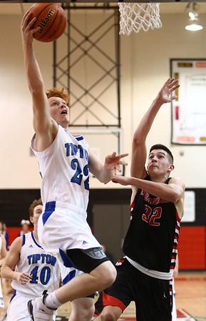 3-3-18<br /> Tipton vs Eastbrook sectional<br /> Luke Stoker shoots.<br /> Kelly Lafferty Gerber | Kokomo Tribune