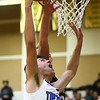 3-10-18<br /> Tipton vs Covington boys basketball regional semi-final<br /> Trent Seward drops one in the bucket.<br /> Kelly Lafferty Gerber | Kokomo Tribune