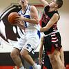 3-3-18<br /> Tipton vs Eastbrook sectional<br /> Tipton's Lukas Swan goes up for a shot.<br /> Kelly Lafferty Gerber | Kokomo Tribune