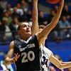 3-2-18<br /> Western vs Northwestern boys basketball<br /> Western's Kyle Sanders shoots.<br /> Kelly Lafferty Gerber | Kokomo Tribune