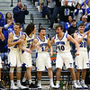 3-10-18<br /> Tipton vs Covington boys basketball regional semi-final<br /> The bench celebrates in the third quarter.<br /> Kelly Lafferty Gerber | Kokomo Tribune