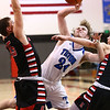 3-3-18<br /> Tipton vs Eastbrook sectional<br /> Carson Dolezal puts up a shot.<br /> Kelly Lafferty Gerber | Kokomo Tribune