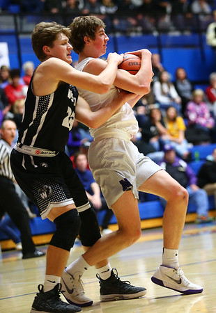 3-2-18<br /> Western vs Northwestern boys basketball<br /> <br /> Kelly Lafferty Gerber | Kokomo Tribune