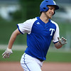 5-26-18<br /> Eastern vs Tipton baseball<br /> Tipton's Carson Dolezal smiles as he runs the bases after hitting a homerun.<br /> Kelly Lafferty Gerber | Kokomo Tribune