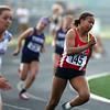 5-15-18<br /> Girls track and field sectional<br /> Kokomo's Tionna Brown in the 200 meter dash finals.<br /> Kelly Lafferty Gerber   Kokomo Tribune