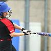 5-3-18<br /> Taylor vs Carroll softball<br /> Shelby Ward bats.<br /> Kelly Lafferty Gerber | Kokomo Tribune
