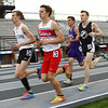 5-17-18<br /> Boys track and field sectional<br /> Western's Brayden Curnutt and Kokomo's Corey Dea lead the pack in the 3200.<br /> Kelly Lafferty Gerber | Kokomo Tribune
