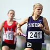 5-15-18<br /> Girls track and field sectional<br /> NW's Lauren Longshore in the 4x800 relay.<br /> Kelly Lafferty Gerber | Kokomo Tribune