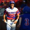 5-25-18<br /> Kokomo vs Harrison baseball<br /> Colt Munsey celebrates as he comes off home base, scoring a run.<br /> Kelly Lafferty Gerber | Kokomo Tribune