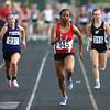 5-15-18<br /> Girls track and field sectional<br /> Kokomo's Tionna Brown in the 100 meter dash trials.<br /> Kelly Lafferty Gerber   Kokomo Tribune