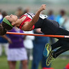 5-15-18<br /> Girls track and field sectional<br /> Taylor's Alison Pemberton in the high jump.<br /> Kelly Lafferty Gerber   Kokomo Tribune
