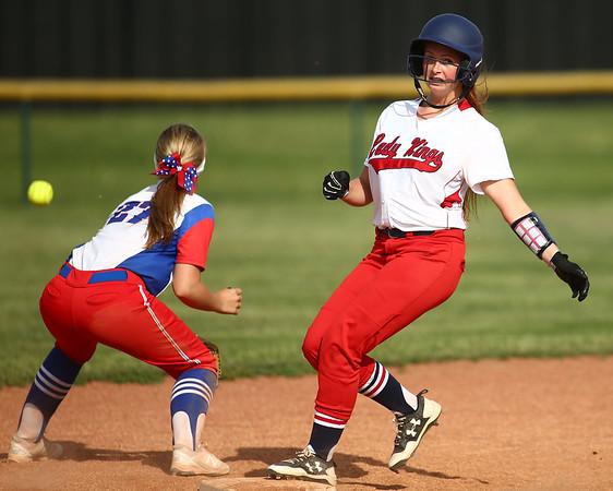 5-16-18<br /> Kokomo vs Cass softball<br /> Cass' Kadie Cornell makes it to second.<br /> Kelly Lafferty Gerber   Kokomo Tribune