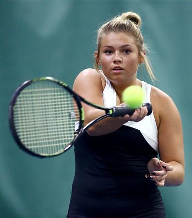 5-18-18<br /> Northwestern girls tennis sectional<br /> 3 singles Morgan Mercer<br /> Kelly Lafferty Gerber   Kokomo Tribune