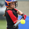 5-3-18<br /> Taylor vs Carroll softball<br /> Jada Critchlow bats.<br /> Kelly Lafferty Gerber | Kokomo Tribune