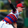 5-25-18<br /> Kokomo vs Harrison baseball<br /> Bayden Root pitches.<br /> Kelly Lafferty Gerber | Kokomo Tribune