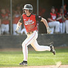 5-1-18<br /> Taylor vs Eastern baseball<br /> Taylor's Clay Brubaker runs home.<br /> Kelly Lafferty Gerber | Kokomo Tribune