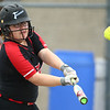 5-3-18<br /> Taylor vs Carroll softball<br /> Brooklyn Meador bats.<br /> Kelly Lafferty Gerber | Kokomo Tribune