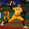 5-23-18<br /> Kokomo vs McCutcheon baseball<br /> Blake Sarjent pitches.<br /> Kelly Lafferty Gerber | Kokomo Tribune