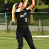 5-9-18<br /> Eastern vs Western softball<br /> Western's Tori Turner makes the catch for an out.<br /> Kelly Lafferty Gerber | Kokomo Tribune