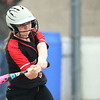5-3-18<br /> Taylor vs Carroll softball<br /> Maddie Uncapher bats.<br /> Kelly Lafferty Gerber | Kokomo Tribune