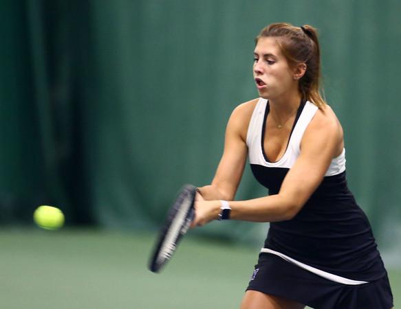 5-18-18<br /> Northwestern girls tennis sectional<br /> 1 doubles Sarah Vas<br /> Kelly Lafferty Gerber | Kokomo Tribune