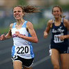 5-15-18<br /> Girls track and field sectional<br /> Mac's Madison Winegardner pulls ahead to finish first at the end of the 1600.<br /> Kelly Lafferty Gerber   Kokomo Tribune