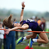 5-15-18<br /> Girls track and field sectional<br /> NW's Rachel Mast in the high jump.<br /> Kelly Lafferty Gerber   Kokomo Tribune