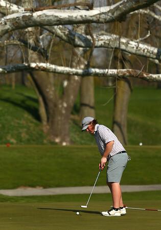 5-2-18<br /> WHS vs KHS boys golf<br /> Western 5 Spencer Chambers<br /> Kelly Lafferty Gerber   Kokomo Tribune